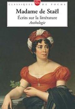 Livres Couvertures de Ecrits sur la littérature