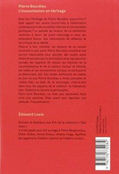 Pierre Bourdieu. L'insoumission en héritage de Indie Author