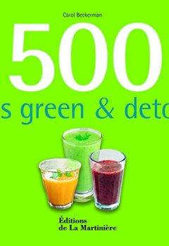 Livres Couvertures de 500 jus green et détox