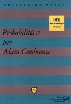 Livres Couvertures de Probabilités, 1 : HEC voie scientifique