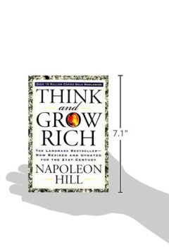 Livres Couvertures de Think and Grow Rich (Séquence inédite).