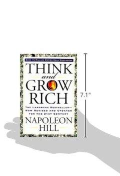 Livres Couvertures de Think and Grow Rich (Séquence inédite).