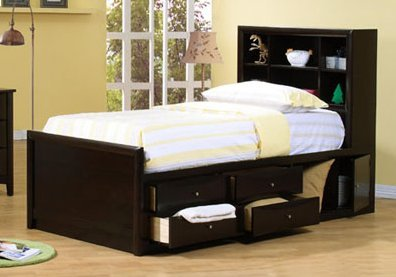 Image of Dayton Chest Bed Kids Bedroom Set - Coaster 400180T (B005LWQDD0)