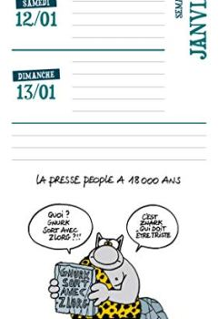 Livres Couvertures de Agenda Le chat