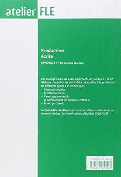 Livres Couvertures de Production écrite Niveaux B1/B2 du Cadre européen commun de référence