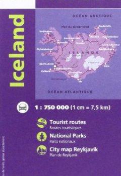 Livres Couvertures de 85111 ISLANDE  1/750.000