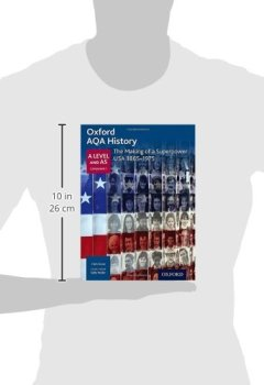Livres Couvertures de Oxford AQA History for A Level: The Making of a Superpower: USA 1865-1975