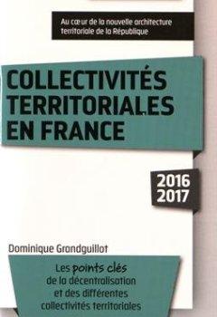 Livres Couvertures de Collectivités territoriales en France