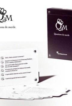 Livres Couvertures de Longalive Games - JDCLON001 - Jeu de Cartes - Questions de Merde