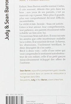 Livres Couvertures de Moi, l'enfant autiste