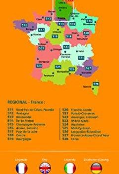 Livres Couvertures de Carte Nord-Pas-de-Calais, Picardie Michelin 2018