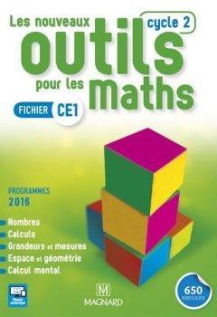 Livres Couvertures de Les nouveaux outils pour les maths CE1 : Fichier