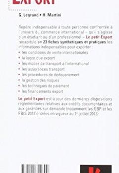 Livres Couvertures de Le petit Export 2016 - 10e éd. - Les pratiques clés en 23 fiches