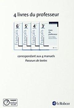 Livres Couvertures de Français 3e : Livre du professeur