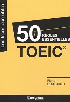 Livres Couvertures de 50 règles essentielles TOEIC