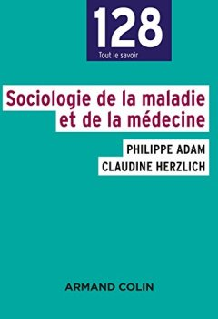 Livres Couvertures de Sociologie de la maladie et de la médecine NP