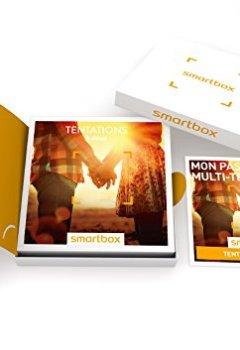 Livres Couvertures de SMARTBOX - Coffret Cadeau - TENTATIONS À DEUX - 1540 expériences : séjour, séance bien-être, gastronomie ou aventure