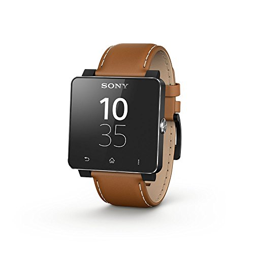 Sony 1300-2689 - SmartWatch 2 con correa de cuero, color...