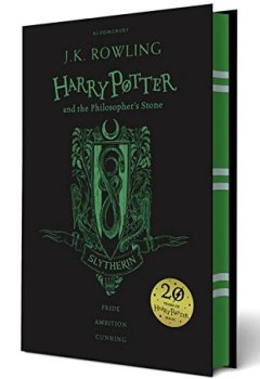 Livres Couvertures de Harry Potter and the Philosopher's Stone - Slytherin Edition