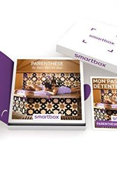Livres Couvertures de SMARTBOX - Coffret Cadeau - PARENTHÈSE DE BIEN-ÊTRE EN DUO - 1625 soins : Modelage du Corps, soin du Visage, Accès au Spa