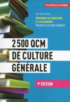 Livres Couvertures de 2 500 QCM de culture générale