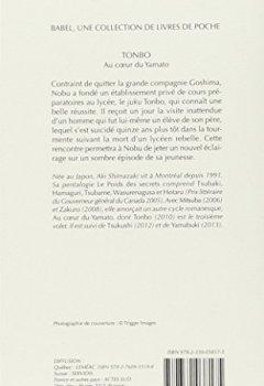 Livres Couvertures de Au coeur du Yamato, Tome 3 : Tonbo