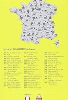 Livres Couvertures de Carte Corse-du-Sud, Haute-Corse Michelin