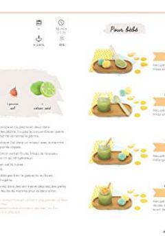 Livres Couvertures de 100 recettes pour bébé et toute la famille