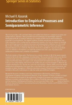 Livres Couvertures de Introduction to Empirical Processes and Semiparametric Inference