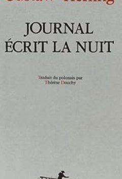 Livres Couvertures de Journal écrit la nuit