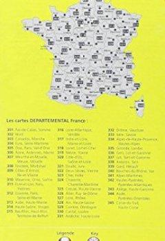 Livres Couvertures de Carte Hautes-Pyrénées, Pyrénées-Atlantiques Michelin