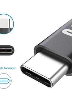 Livres Couvertures de Adaptateur USB C vers Micro USB Rampow® - 2 Pièces - Connecteur USB Type-C Male vers Micro USB Femelle en Aluminium - Ultra Résistant - pour Samsung Galaxy S8 / A3 (2017) / A5 (2017) / A7 / A9 / C5/7 pro / C9 / Oneplus 2/3/3T / Huawei P9 / Nexus 5X/6P / HTC10 / LG G5 / Xiaomi / Meizu / Macbook Pro / ChromeBook Pixelet et D'autres Dispositifs avec USB C - Gris Sidéral [Nouvelle version]