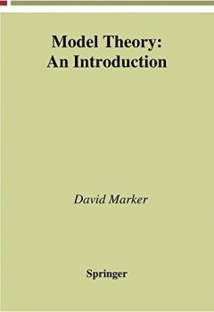 Livres Couvertures de Model Theory: An Introduction