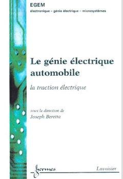 Livres Couvertures de Génie électrique automobile : la traction électrique