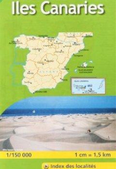 Livres Couvertures de Carte ZOOM Iles des Canaries.
