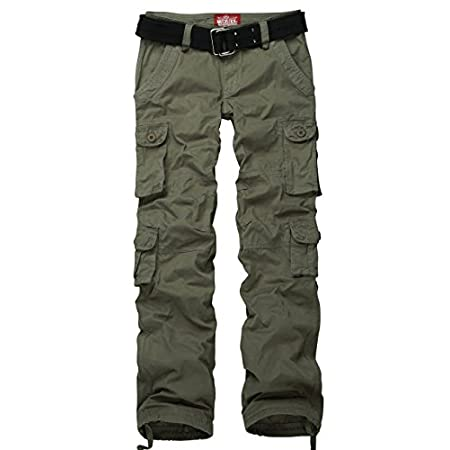 Match women's petite slim fit cargo pants series, this utility-chic pants will add a cool edge to any ensemble and be your perfect daily uniform. 100% cotton fabric, quick dry&comfortable. KIND NOTICE: This is a Chinese size pants, which is 1-2 size ...