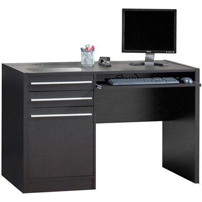 Picture of Comfortable Connect IT Computer Desk - Cappuccino (B004G7RVVO) (Computer Desks)