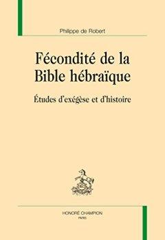 Livres Couvertures de Fecondite de la Bible Hebraique