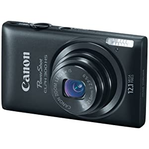 Canon PowerShot ELPH 300 This was our primary camera, and is now our back-up camera – for taking places where damage might happen.