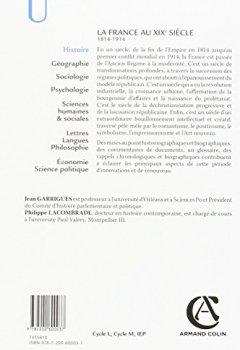 Livres Couvertures de La France au XIXe siècle - 3e éd. - 1814-1914
