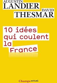 Livres Couvertures de 10 idées qui coulent la France