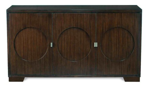 Image of Circle Buffet by Brownstone - Ebony Finish (WS305) (WS305)