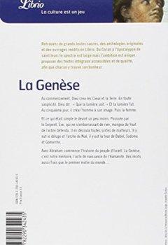 Livres Couvertures de La Genèse