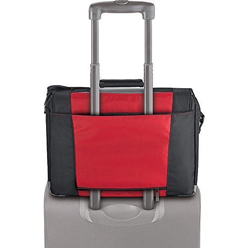 Solo-Classic-Collection-Laptop-Messenger-Bag-Holds-Notebook-Computer-up-to-17-Inches-Red-PT92012