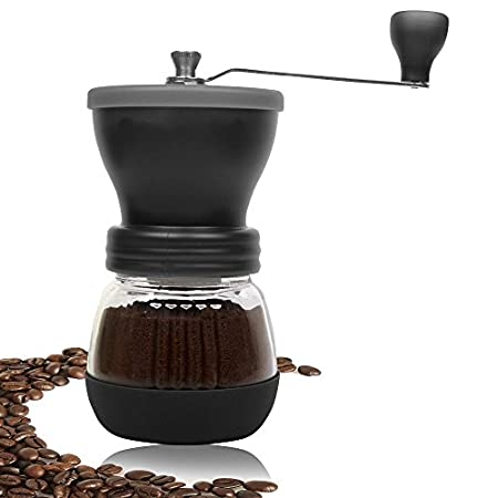 DURACASA Manual Coffee Grinder. An Incredible Grinding Experience with Every Cup! This ceramic coffee grinder features a ceramic grinding mechanism that will never alter the flavor of the grinds, resulting in fresh, flavorful, and pure coffee each ...