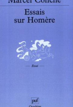Livres Couvertures de Essais sur Homère