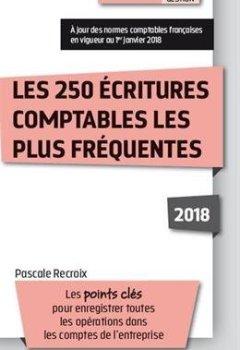 Livres Couvertures de Les 250 écritures comptables les plus fréquentes