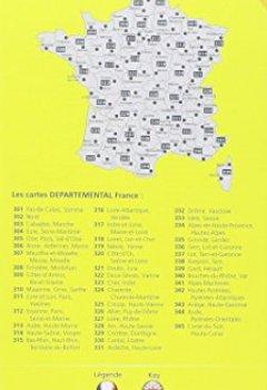 Livres Couvertures de Carte Ardèche, Haute-Loire Michelin