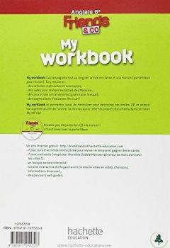 Livres Couvertures de Friends and co 6e / Palier 1 année 1 - Anglais - Workbook - Edition 2011