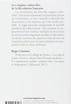 Livres Couvertures de Les origines culturelles de la Révolution française